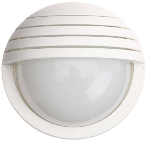 prisma 300484 954733 luminaires ext rieur applique murale e27 60w ip44 blanc. Black Bedroom Furniture Sets. Home Design Ideas