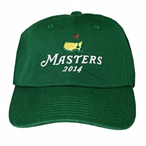 2014 Masters Stacked Logo Hat - Green