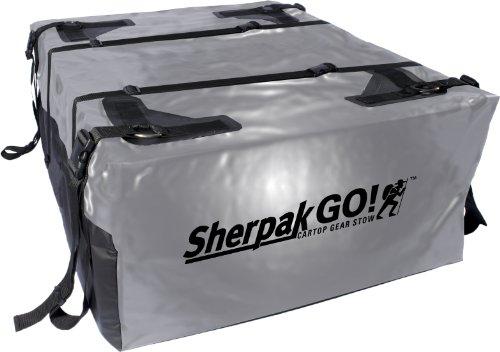 Seattle Sports Sherpak Go! 15 Bag, Black/Silver front-1064189