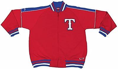 MLB Texas Rangers Contrast Shoulder Track Jacket