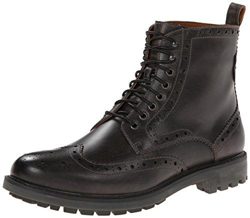 Clarks 其乐 Montacute 男士真皮复古男靴 $85.3(需用码,约¥640)