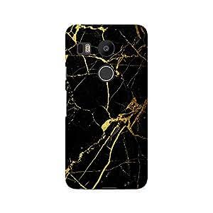 Ebby Lightning Golden Premium Printed Case For LG Nexus 5X