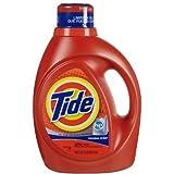 Tide He Laundry Detergent Original Scent 100 Oz