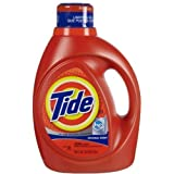Tide He Laundry Detergent Original Scent 100 Oz (Pack of 4)