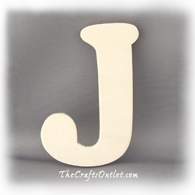 The Crafts Outlet Unfinished Plywood Plaque, Letter I, 3-1/4-Inch Width with 1/4-Inch Thickness, the 4-inch series