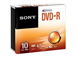 Sony DVD-R JC
