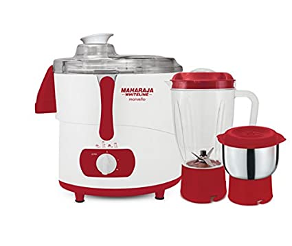 Maharaja Whiteline Marvello 450W Juicer Mixer Grinder