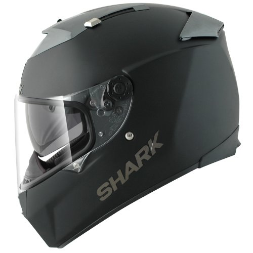 SHARK Full-Face Helmet SPEED-R MAX VISION BLANK MAT flat-black size XL (61/62)