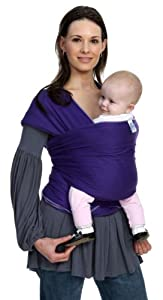 Moby Wrap Original 100% Cotton Baby Carrier, Majestic