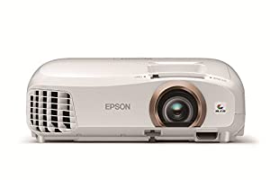Epson EH-TW5350 Full HD 3D Home Cinema Projector Built-in Wireless 2 x HDMI 1080p 2200 Lumens 3LCD 4000 Hours Lamp Life from Epson