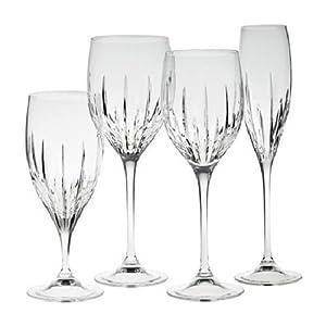 Wedgwood Vera Wang Crystal Stemware And Barware Princess Flute Champagne Flutes