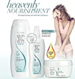 Avon Skin So Soft Original Set - Including Dry Oil Body Spray 150ml Bottle - Body Butter 200ml Tub & Bath Oil 250ml Bottle - All products include Jojoba & Citronellol - The Complete Set Of Skin So Soft Original The Alternative To Insect Repellent