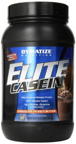 Dymatize Nutrition Elite Shake, Casein Chocolate Peanut Butter, 2 Pound