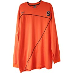 Joseph Long Sleeve Shooting Shirt - Syracuse 2009-10 Mens Basketball #32 Game Worn...