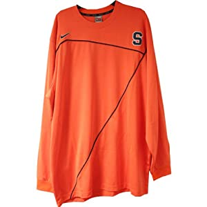 Joseph Long Sleeve Shooting Shirt - Syracuse 2009-10 Mens Basketball #32 Game Worn... by Steiner+Sports