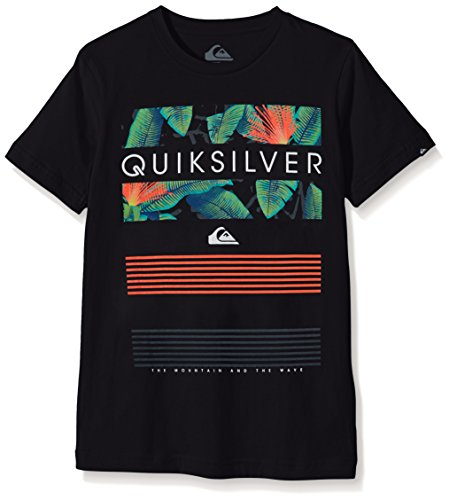 quiksilver-line-up-t-shirt-garcon-anthracite-fr-14-ans-taille-fabricant-l-14