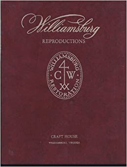 Williamsburg reproductions interior designs for todays for Williamsburg craft house catalog