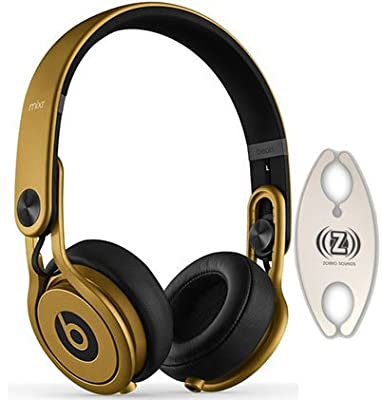 Beats by Dr. Dre Mixr Gold DJ Headphones Carry Pack with Wire Holder