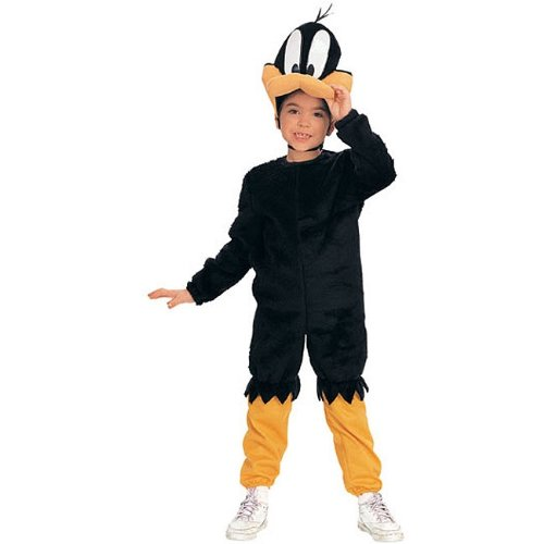 Daffy Duck Cartoon Character Kids Costume