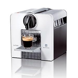 Nespresso C180W Le Cube Automatic Espresso Machine, Arctic White