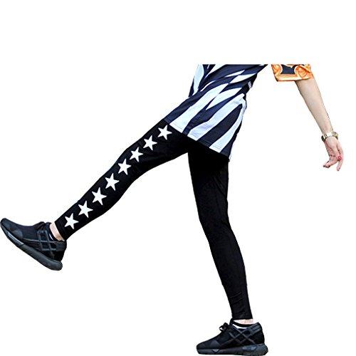 pizoff-unisex-hip-hop-kreuz-stern-curve-sport-lauf-leggings-y0477-m