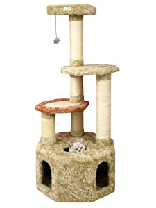 Armarkat Premium Cat Tree Model X5703, Khaki