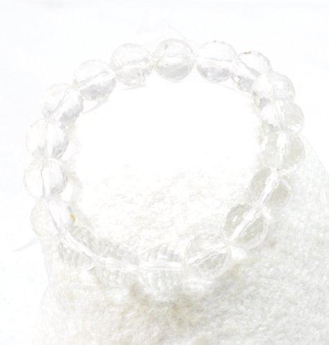 Small Clear Crystal Bracelet