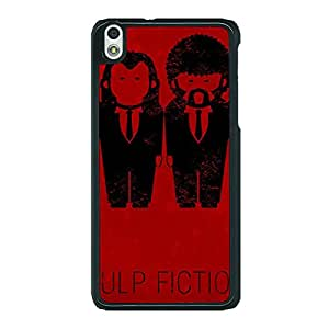 Jugaaduu Pulp Fiction Back Cover Case For HTC Desire 816G