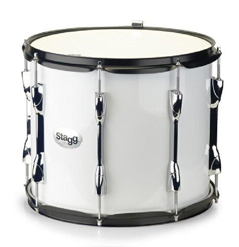 stagg-matd-1412-marching-tenor-tambour-14x12-blanc-noir