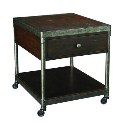 Cheap Hammary Structure 26×22 Rectangular Drawer End Table (T30020-T3002021-00)