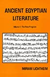 Ancient Egyptian Literature, Vol. 2: The New Kingdom: A Book of Readings (Near Eastern Center, UCLA)