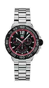 TAG Heuer Men's CAU1116.BA0858 Formula 1 Black Dial Stainless Steel Watch