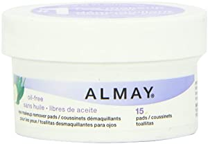Almay Oil-free Eye Makeup Remover Pads, 6.5-Ounce