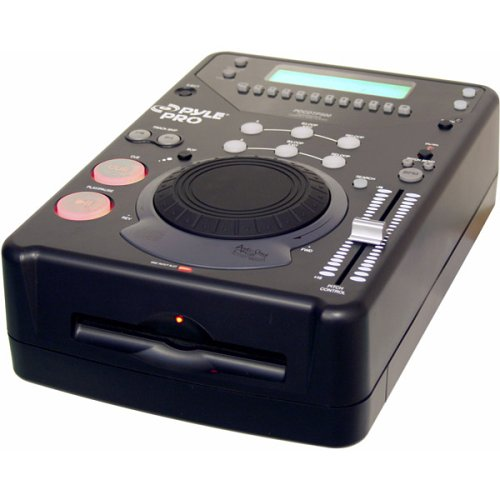 Lowest Price! Pyle-Pro PDCDTP500 Professional DJ Tabletop CD Player with Jog Dial