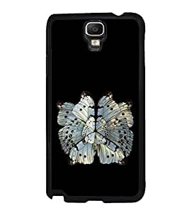 Butterfly Back Case Cover for SAMSUNG GALAXY NOTE3 NEO