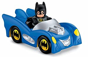Fisher-Price Little People DC Super Friends Batmobile