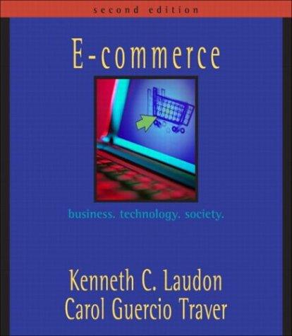 E-commerce: business. technology. society.