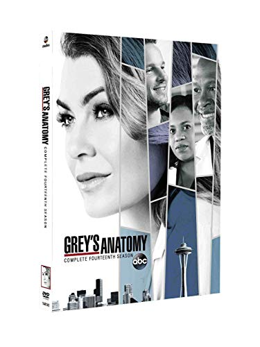 DVD : Grey's Anatomy:Complete Fourteenth Season 14