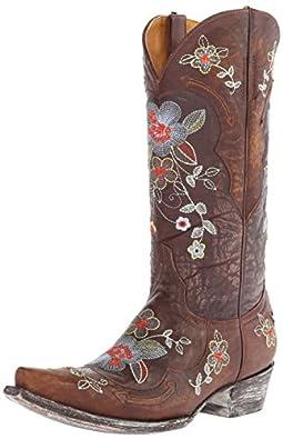 Old Gringo Women's Bonnie Western Boot, Chocolate, 6 B US