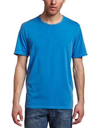 VELVET BY GRAHAM & SPENCER Men's Pigment Dyed Crew Tee, Dutch, X-Large
