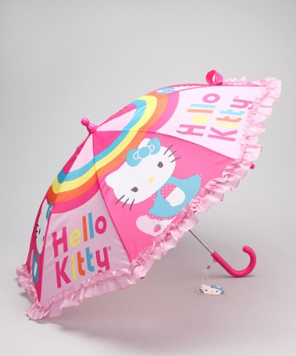 Sanrio Hello Kitty Girl's Pink Umbrella