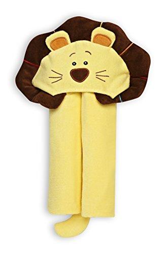 GUND Kids Roarsly Lion Hooded Towel, Roarsly Lion, 24'' By 48'' - 1