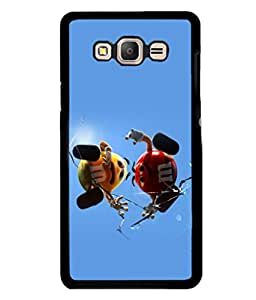 printtech M&M Candy Cartoon Back Case Cover for Samsung Galaxy On7 Pro :: Samsung Galaxy On7
