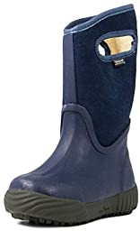 Bogs City Farmer Solid All Weather Rain Boot (Infant/Toddler/Little Kid/Big Kid), Dark Blue