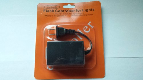 christmas light controller for string light and christmas tree lights flash controller