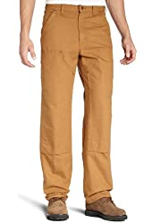 Carhartt Men's Double Front Work Dungaree Washed Duck