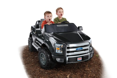 power wheels boys ford f 150 black best deals toys. Black Bedroom Furniture Sets. Home Design Ideas