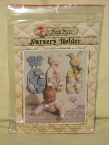 Patch Press Baby Nursery Holder Organizer Pattern - 1