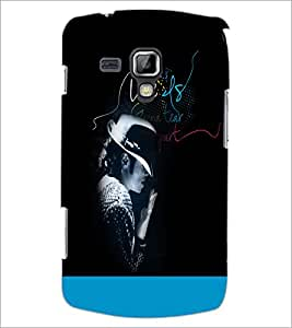 Printdhaba Quote D-3510 Back Case Cover For Samsung Galaxy S Duos 2 S7582
