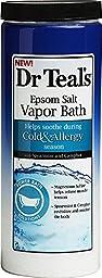 Dr. Teal\'s Cold and Allergy Epsom Salt Vapor Bath (22-Ounce)